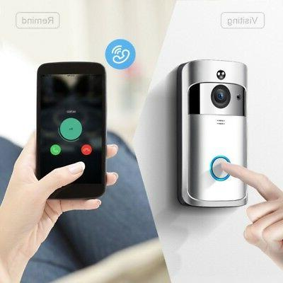Wireless Video Door Ring Camera