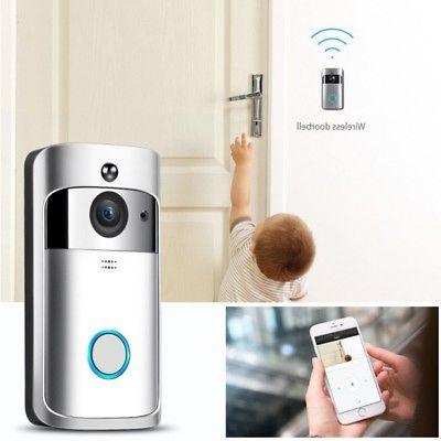 Smart Door Bell Camera Security Kit