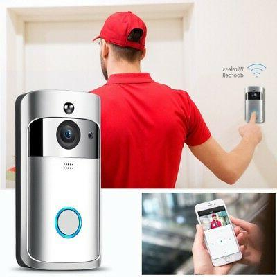 Smart Video Door Bell IR Camera Record Security System Kit