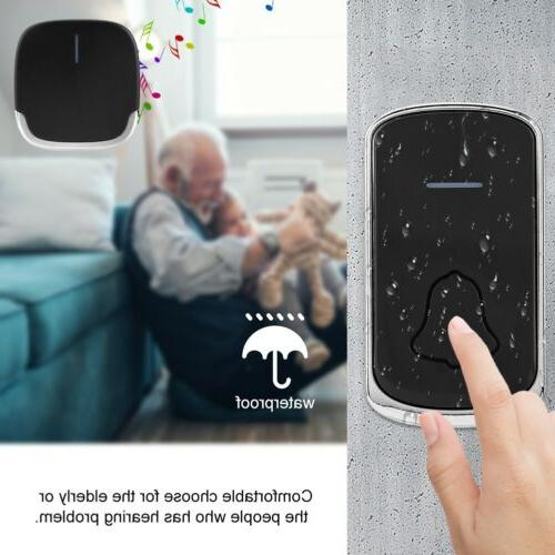 Smart WiFi Chime Video Wireless Remote Door Bell Security