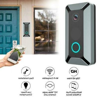 Smart WiFi Doorbell Video Door CCTV