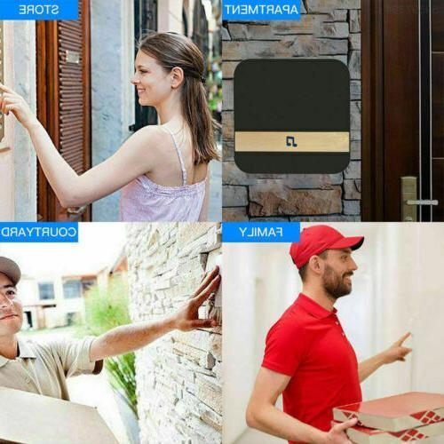 Smart WiFi Doorbell Video Bell CCTV Chime