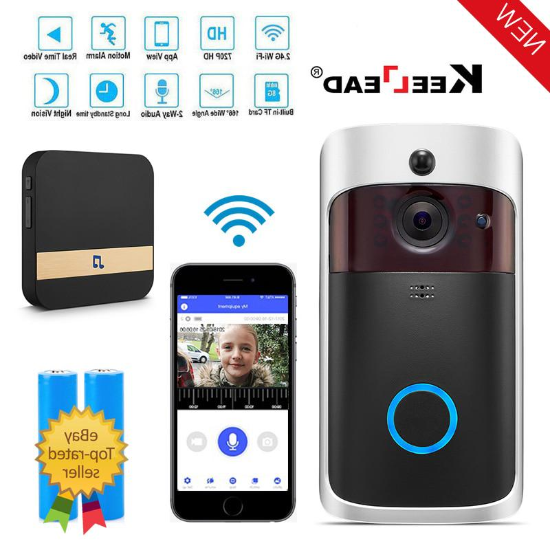 smart wifi doorbell wifi door bell phone