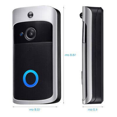 Smart Doorbell Video Two-Way HD Talk PIR Door Bell Security Camera