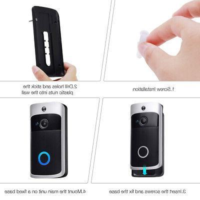 Smart WiFi Video Two-Way PIR Door Bell