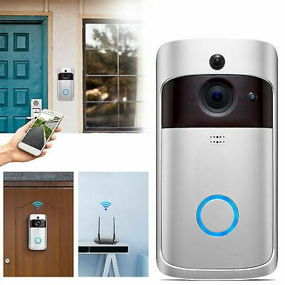 Smart WiFi Wireless Video Doorbell Two-Way Talk Door Bell Se