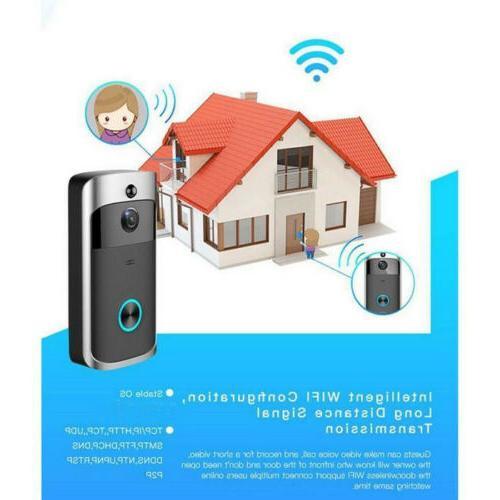 Smart Wireless Bell Camera Video Intercom