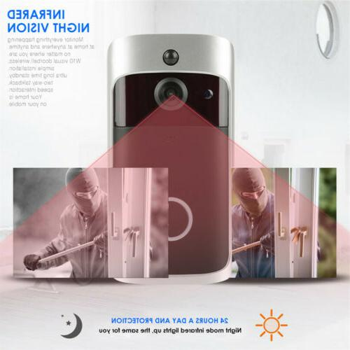 Smart Wireless Phone Bell Video