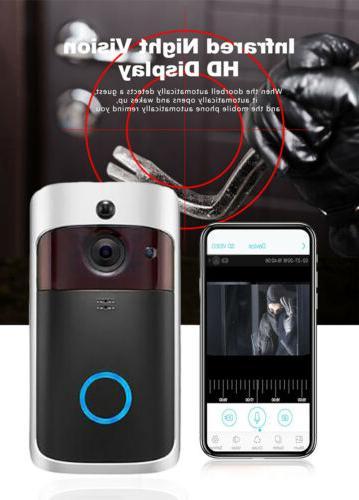 Smart Phone Door Bell Camera WiFi 1080P Video Intercom