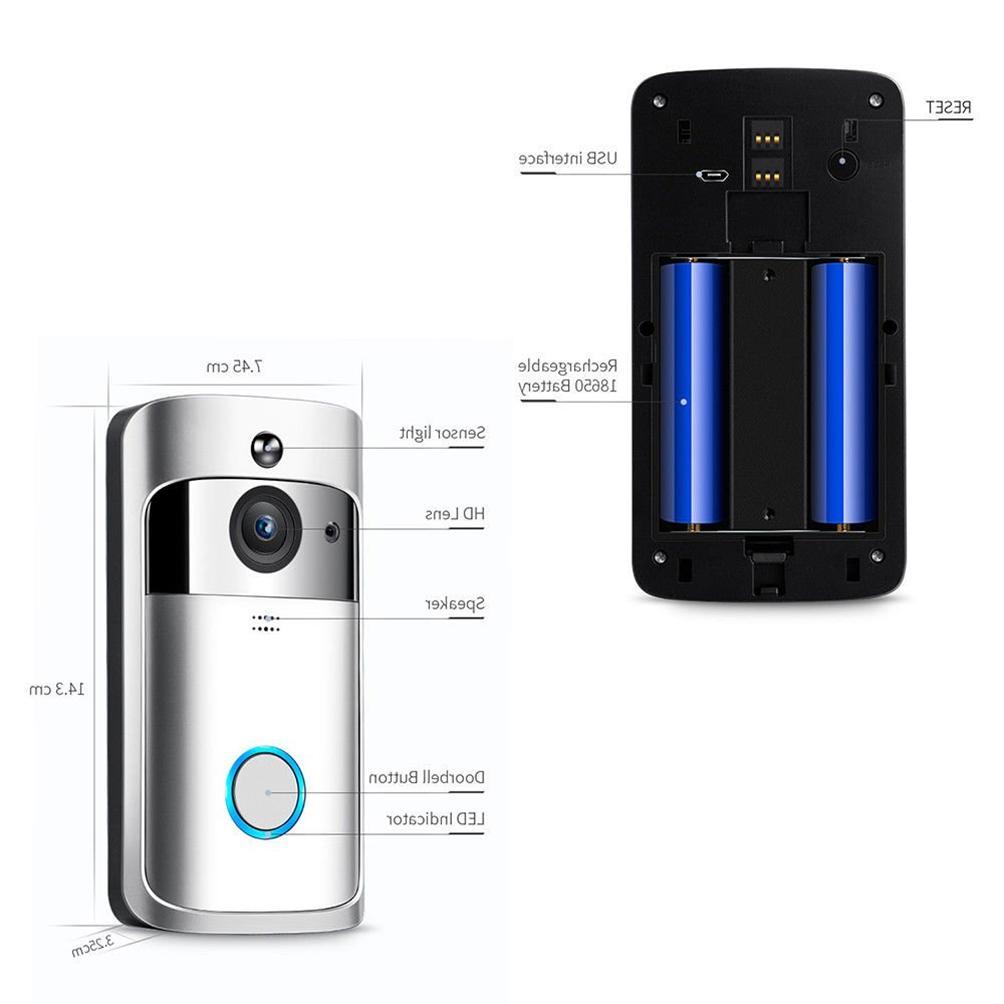 Smart Phone Door Bell Camera WiFi Video Intercom Ring 🚪