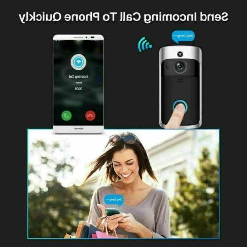 Smart Video Camera Phone Bell Intercom Home