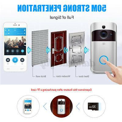 Smart Wireless Video Camera Intercom Home