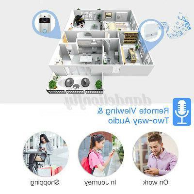 Smart Wireless Video Camera Phone Intercom Home