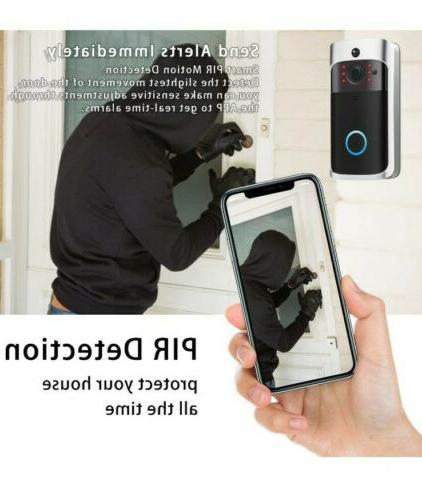 smart wireless wifi doorbell video camera phone