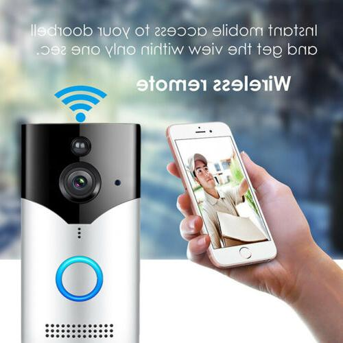 Smart Wireless WiFi Doorbell Video Phone Bell