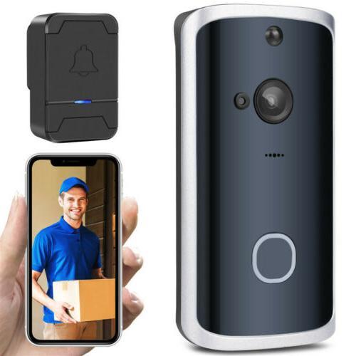 Smart Wireless Ring Doorbell Video Camera Phone Bell Intercom