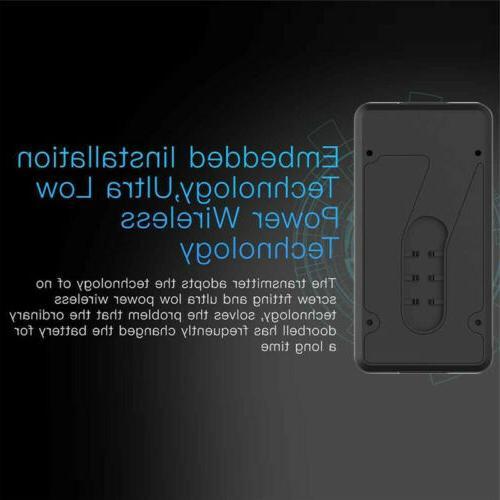 Smart Wireless WiFi Ring Doorbell Video Bell Home