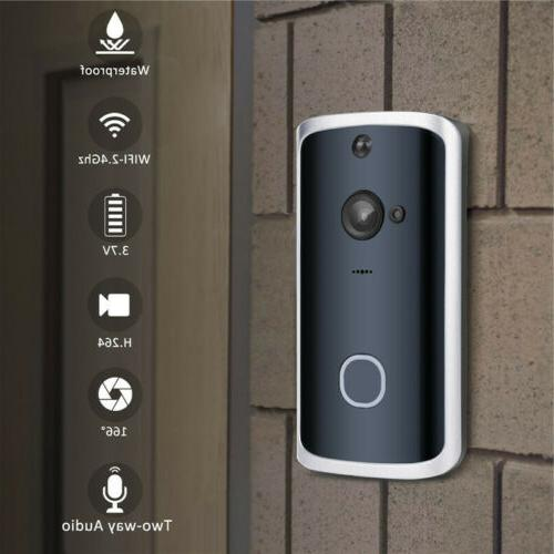Smart Wireless Doorbell Video Camera Phone Bell Intercom Home