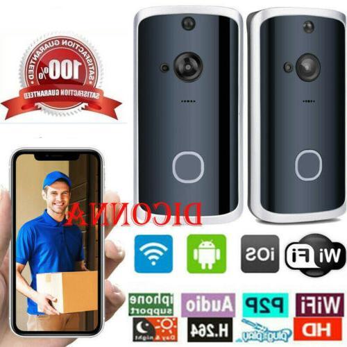 smart wireless wifi ring doorbell video camera