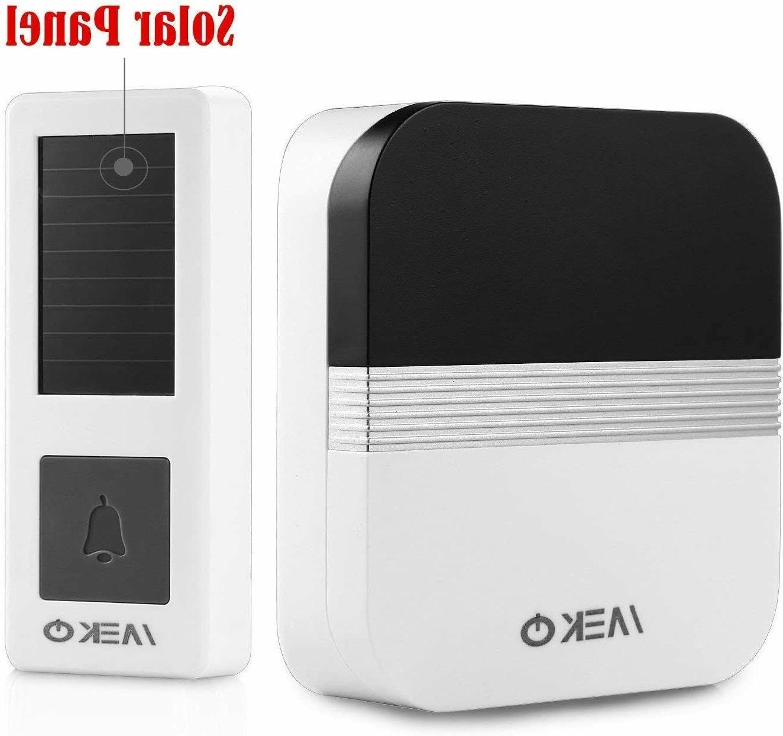 Solar Wireless Doorbell business home teachers bedroom Waterproof