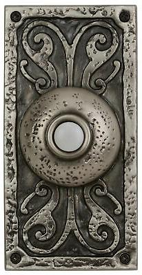 Surface Mount Doorbell in Antique Pewter