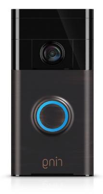 The Ring Smart Camera Live Video 2 Way Doorbell Alexa iPhone