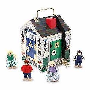 toy doorbell house 5 pieces ages 3