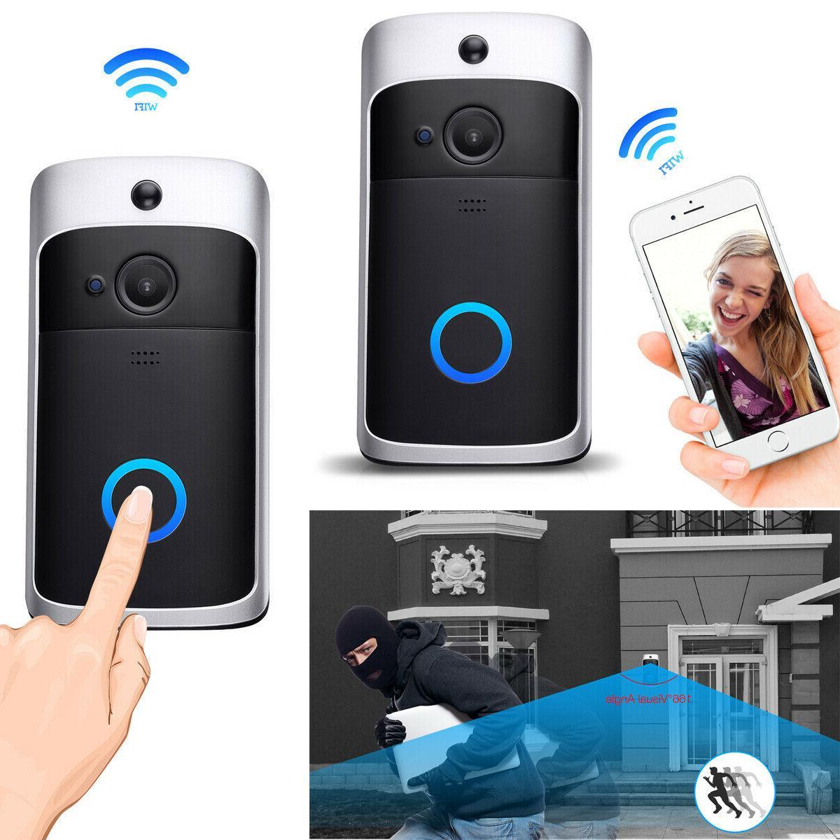 two way door bell wifi wireless video