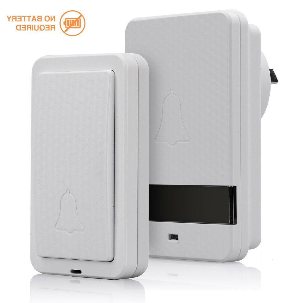updated us version extra loud wireless doorbell