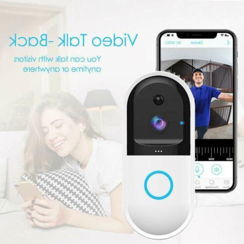 US Smart Video Wireless WiFi Door IR Visual Camera Record System