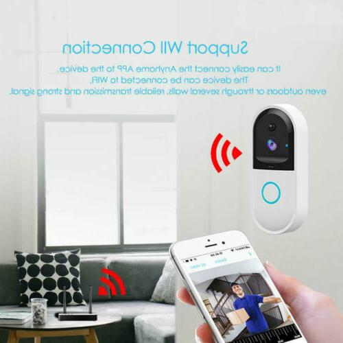 US Video WiFi Bell IR Visual Record System