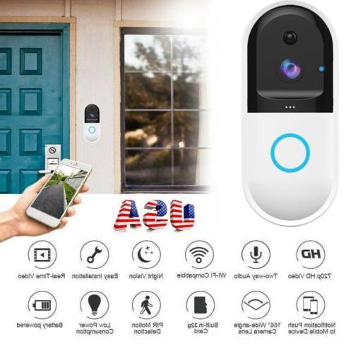 us smart video wireless wifi door bell