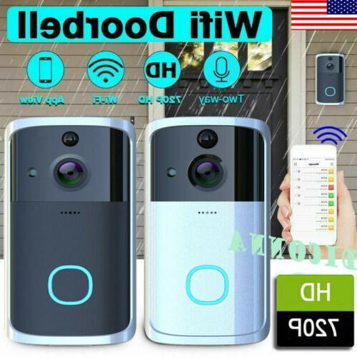 US Wireless WiFi Door Visual Camera Record System