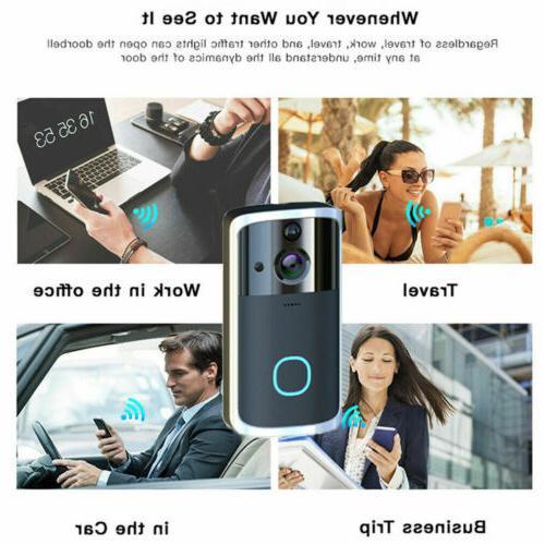 US Smart Wireless WiFi Visual Camera System