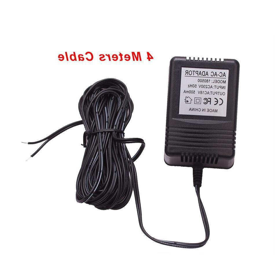 US UK Plug 18V for Wireless <font><b>Doorbell</b></font> Camera Power Video
