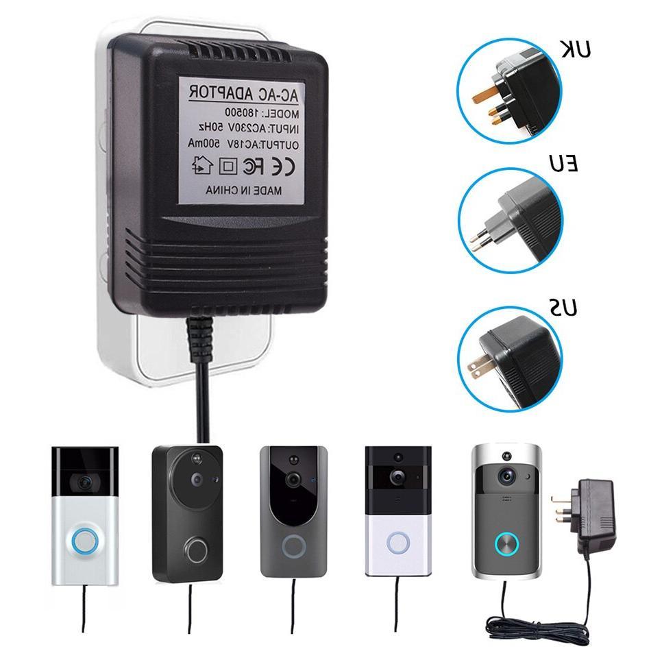 US UK EU 18V for Wireless Camera Video Intercom Ring