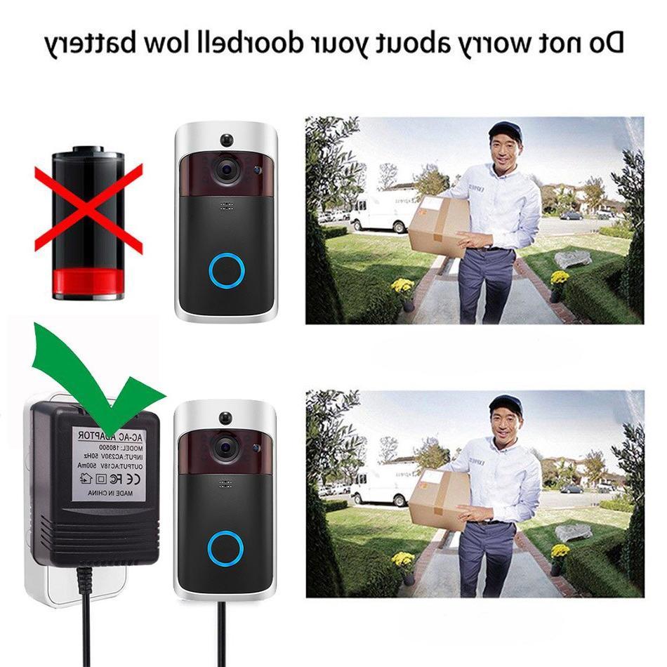US UK EU 18V <font><b>Transformer</b></font> Charger for Wifi <font><b>Doorbell</b></font> Camera Power
