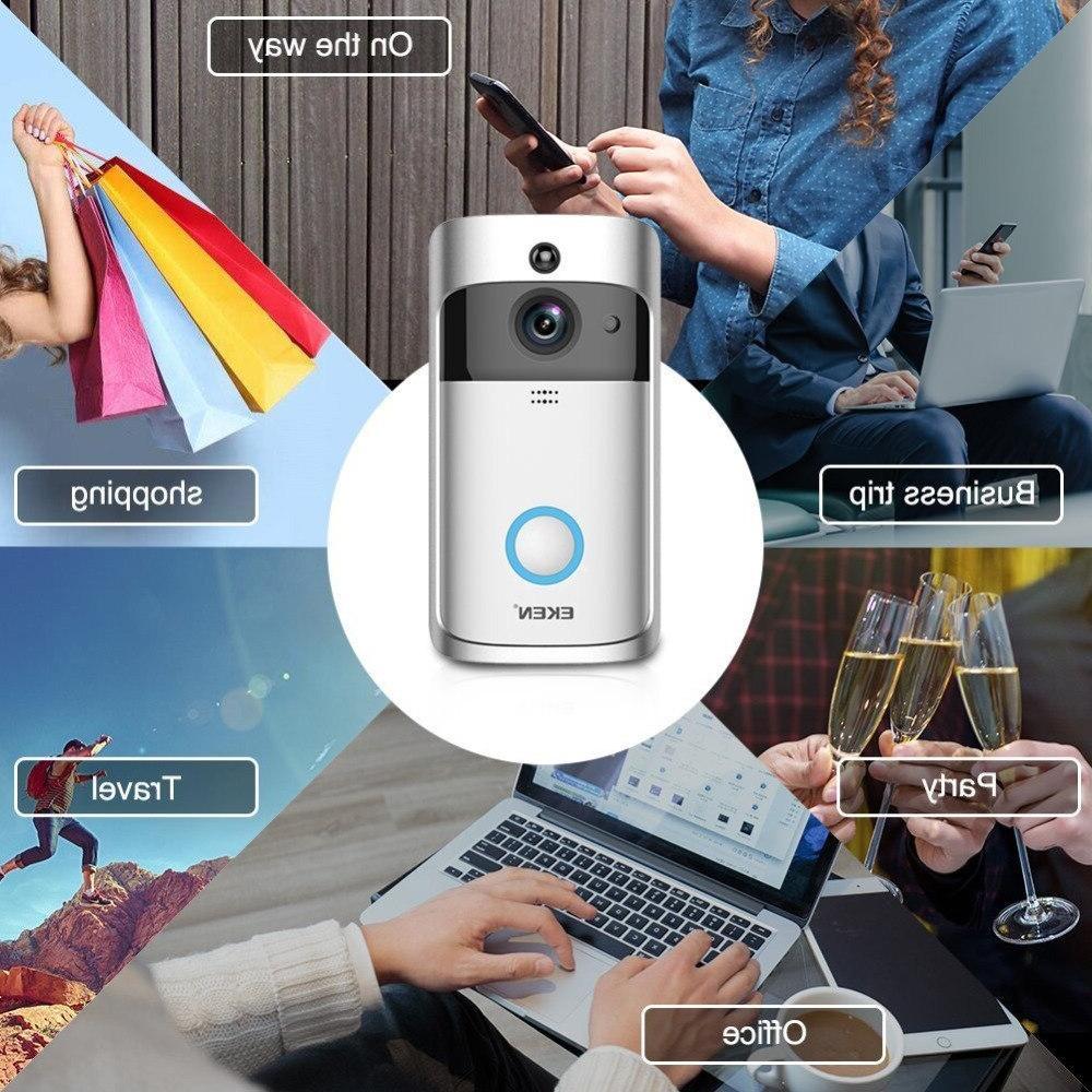 EKEN Call Visual <font><b>Doorbell</b></font> Vision WiFi Intercom