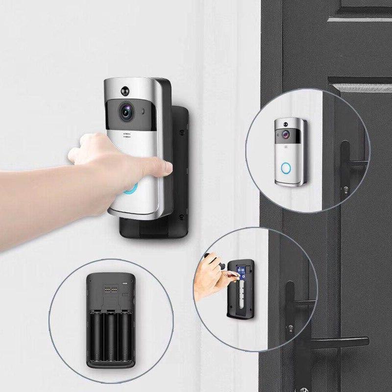 EKEN V5 Call <font><b>Doorbell</b></font> Vision WiFi Intercom Door bell