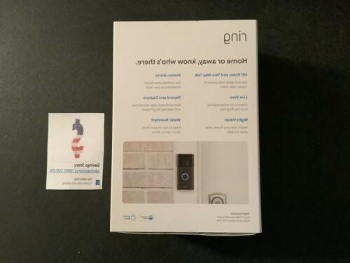 Ring - Video Doorbell - Wireless