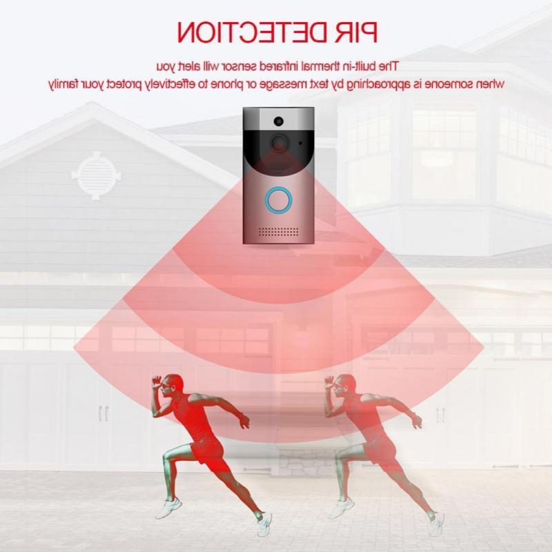 Video Doorbell, Smart Security Camera,