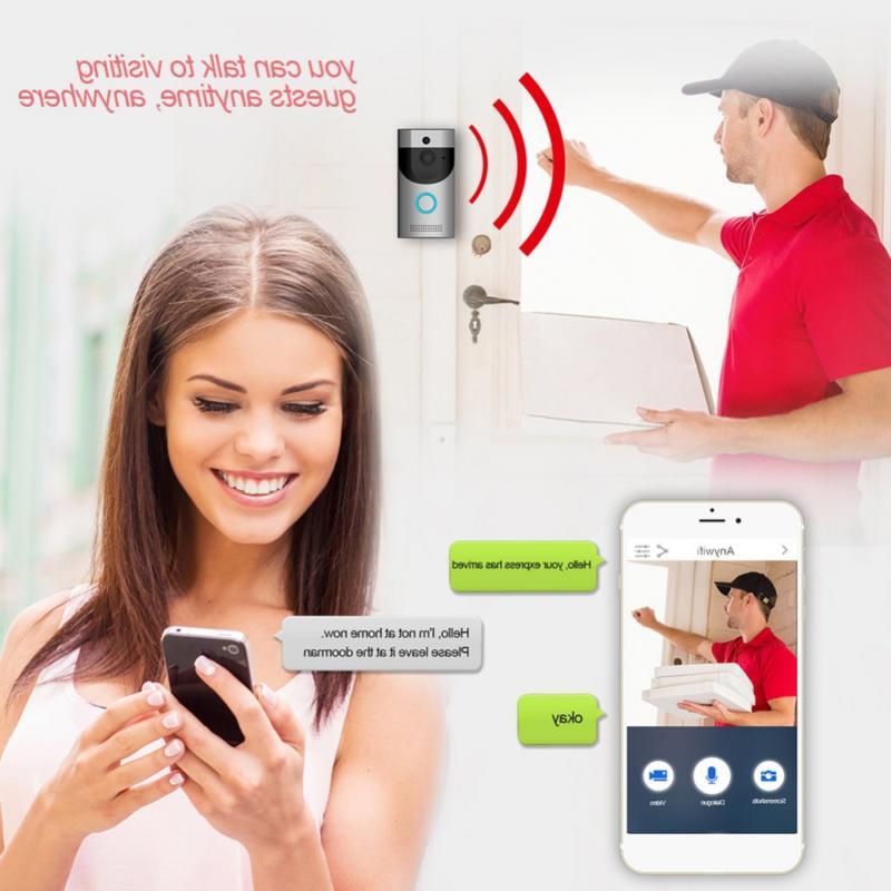 Video Doorbell, Smart HD Security Camera, Real-