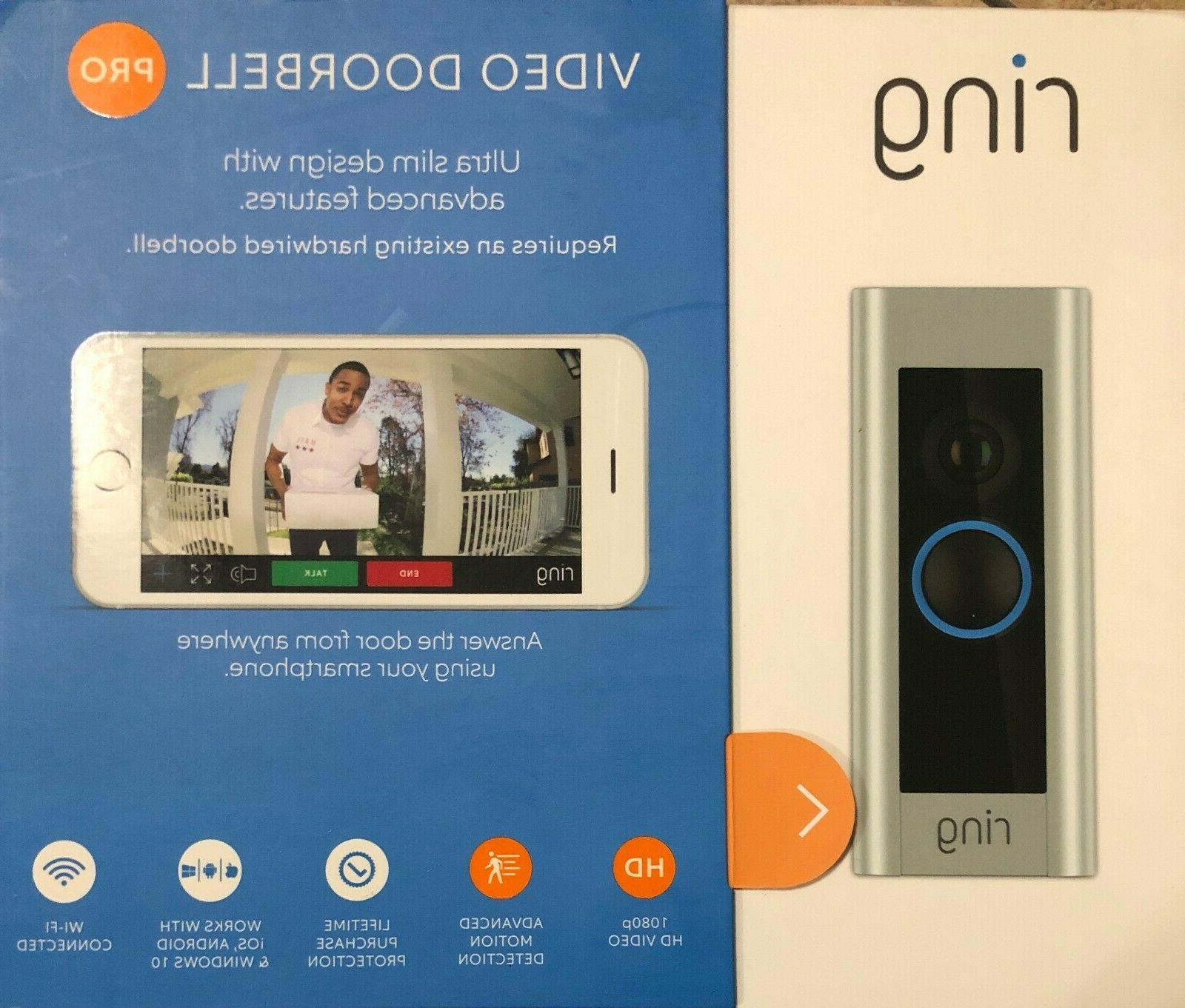 video doorbell pro 8vr1p6 0en0 satin nickel
