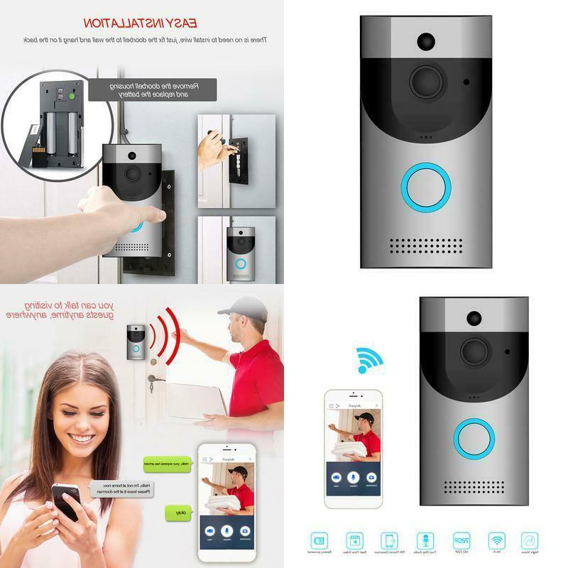 video doorbell waterproof smart doorbell 720p hd