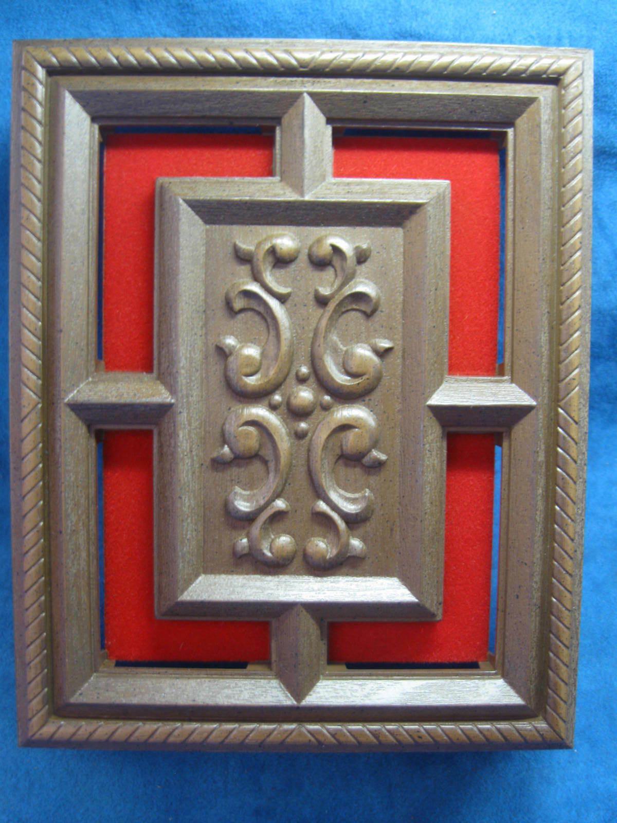 """Vintage DOOR """"Antiqua"""" Walnut..1976"""
