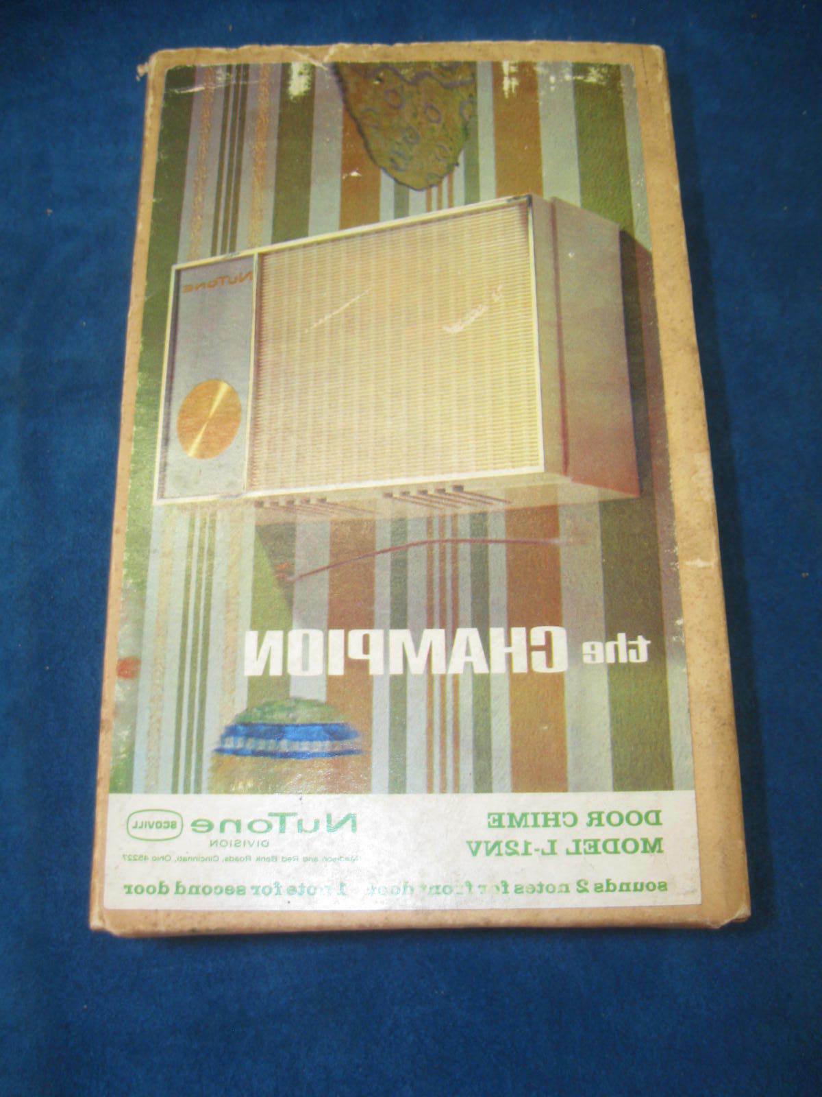 "Vintage DOOR Champion"" L-12NV Complete '60's"