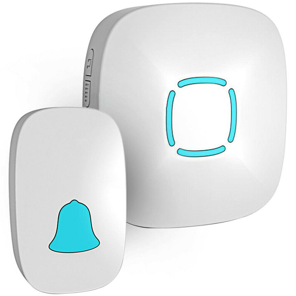 waterproof wireless doorbell chime kit with 36