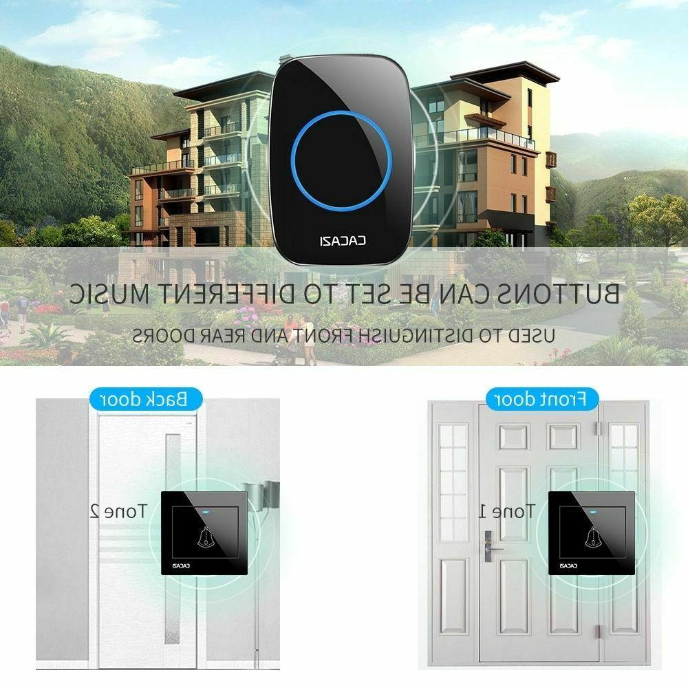 Waterproof Wireless Frequency Quality Door Bells Home