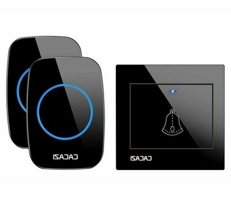 waterproof wireless doorbells 433mhz frequency top quality