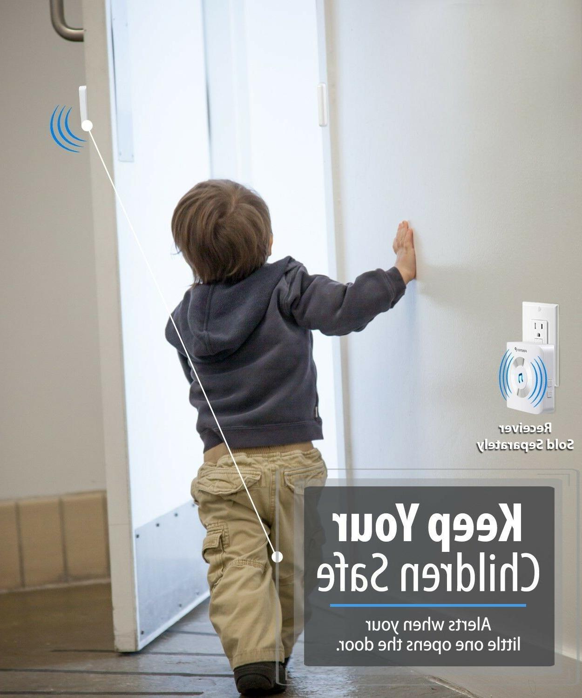 Fosmon WaveLink Add On Wireless Doorbell Door Sensor